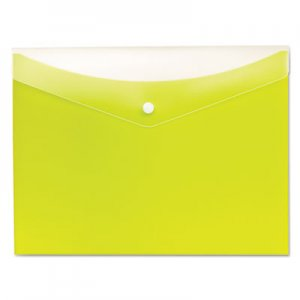 Pendaflex Poly Snap Envelope, Snap Closure, 8.5 x 11, Limeade PFX95566 95566