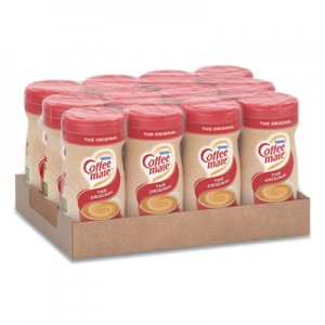 Coffee-mate Non-Dairy Powdered Creamer, Original, 11 oz Canister, 12/Carton NES55882CT 55882