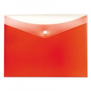 Pendaflex Poly Snap Envelope, Snap Closure, 8.5 x 11, Tangerine PFX95568 95568