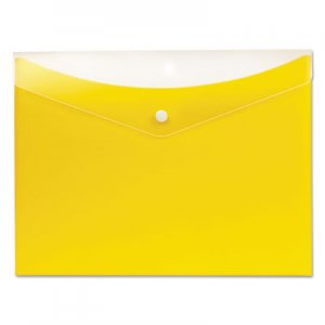 Pendaflex Poly Snap Envelope, Snap Closure, 8.5 x 11, Lemon PFX95567 95567