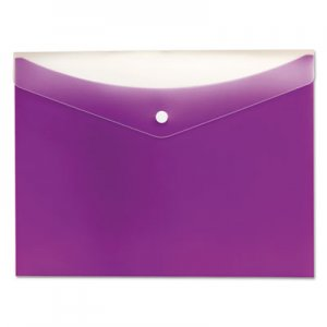 Pendaflex Poly Snap Envelope, Snap Closure, 8.5 x 11, Grape PFX95565P 95565