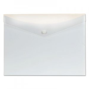 Pendaflex Poly Snap Envelope, Snap Closure, 8.5 x 11, White PFX95564 95564
