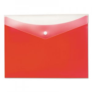 Pendaflex Poly Snap Envelope, Snap Closure, 8.5 x 11, Strawberry PFX95563 95563