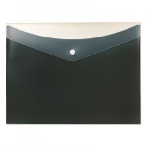 Pendaflex Poly Snap Envelope, Snap Closure, 8.5 x 11, Charcoal PFX95561 95561