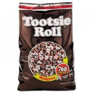 Tootsie Roll Midgees, Original, 5 lb Bag TOO884580 42278