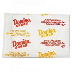 Domino Sugar Portion Packets, 0.1 oz Packets, 2000/Carton DMN845354 375252