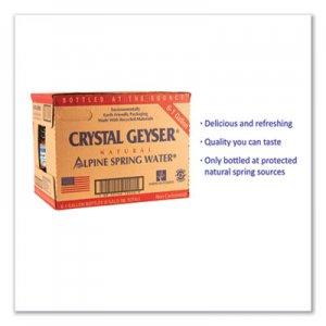 Crystal Geyser Alpine Spring Water, 1 Gal Bottle, 6/Case CGW12514CT 12514