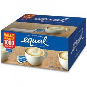 Equal Zero Calorie Sweetener, 0.035 oz Packet, 800/Box EQL1236489 843126