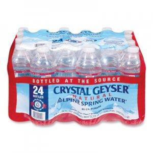 Crystal Geyser Alpine Spring Water, 16.9 oz Bottle, 24/Case CGW24514CT 24514