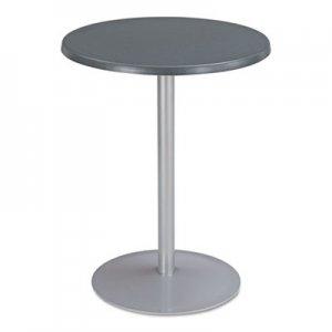 "Safco Entourage Table Top, Round, 24"" Diameter, Anthracite SAF2491AC 2491AC"