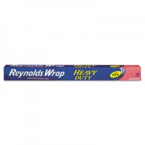 "Reynolds Wrap Heavy Duty Aluminum Foil Roll, 18"" x 75 ft, Silver RFPF28028 PAC F28028"