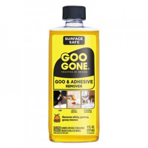 Goo Gone Original Cleaner, Citrus Scent, 8 oz Bottle, 12/Carton WMN2087 2087