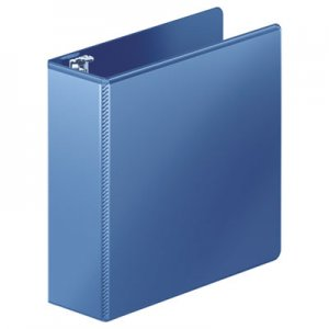 "Wilson Jones Heavy-Duty D-Ring View Binder w/Extra-Durable Hinge, 3"" Cap, PC Blue WLJ385497462 W385497462PP"