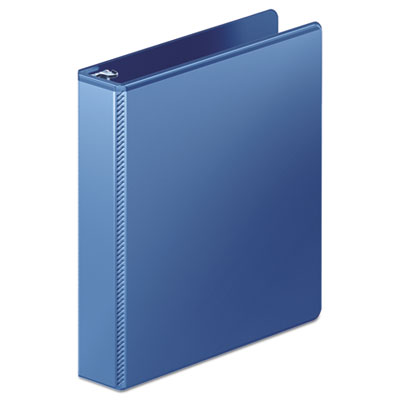 "Wilson Jones Heavy-Duty D-Ring View Binder w/Extra-Durable Hinge, 1 1/2"" Cap, PC Blue WLJ385347462 W385347462PP"