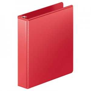 "Wilson Jones Heavy-Duty D-Ring View Binder w/Extra-Durable Hinge, 1 1/2"" Cap, Red WLJ385341797 W385341797PP"