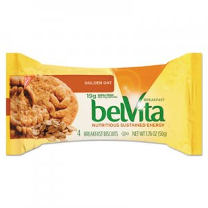 Nabisco belVita Breakfast Biscuits, Golden Oat, 1.76 oz Pack CDB02946BX 00 44000 02947 00