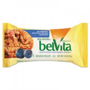 Nabisco belVita Breakfast Biscuits, Blueberry, 1.76 oz Pack CDB02908BX 00 44000 02909 00