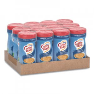 Coffee mate Non-Dairy Powdered Creamer, French Vanilla, 15 oz Canister, 12/Carton NES35775CT 35775CT