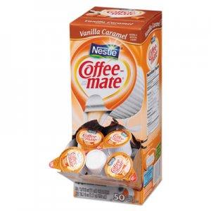 Coffee mate Liquid Coffee Creamer, Vanilla Caramel, 0.38 oz Mini Cups, 50/Box, 4 Boxes/Carton, 200 Total/Carton