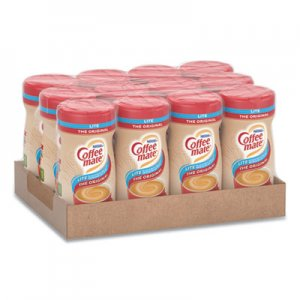Coffee-mate Powdered Original Lite Creamer, 11 oz. Canister, 12/Carton NES74185CT 74185CT
