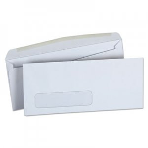 Genpak Business Envelope, #10, Commercial Flap, Gummed Closure, 4.13 x 9.5, White, 250/Box UNV36322