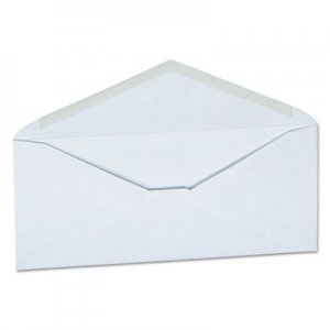 Genpak Business Envelope, #10, Monarch Flap, Gummed Closure, 4.13 x 9.5, White, 250/Carton UNV36319
