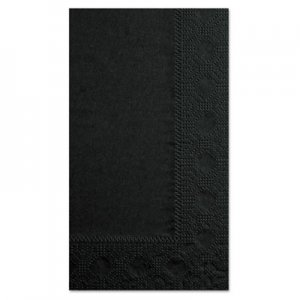 Hoffmaster Dinner Napkins, 2-Ply, 15 x 17, Black, 1000/Carton HFM180513 180513