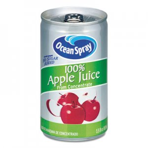 Ocean Spray 100% Juice, Apple, 5.5 oz Can OCS20452 094251