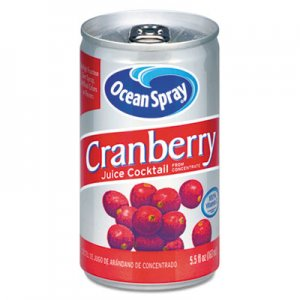 Ocean Spray Cranberry Juice Drink, Cranberry, 5.5 oz Can OCS20450 OCE20450