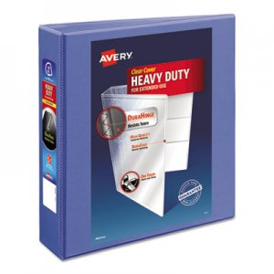 "Avery Heavy-Duty View Binder with DuraHinge and Locking One Touch EZD Rings, 3 Rings, 2"" Capacity, 11 x 8"