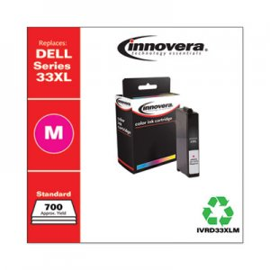 Innovera Remanufactured 6M6FG331-7379 (33XL) Ink, 700 Page-Yield, Magenta IVRD33XLM