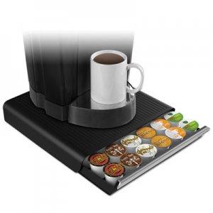 Mind Reader Coffee Pod Drawer, Fits 26 Pods, 14 3/4 x 13 1/4 x 2 3/4, Black