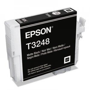 Epson UltraChrome HG2 Ink, Matte Black EPST324820 T324820