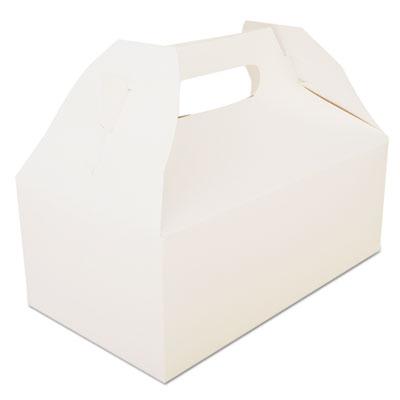 SCT Carryout Barn Boxes, 8 7/8 x 5 x 3 1/2, White, 250/Carton SCH2701 SCH 2701