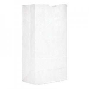 "Genpak Grocery Paper Bags, 8.25"" x 16.13"", White, 500 Bags BAGGW20500 51040"