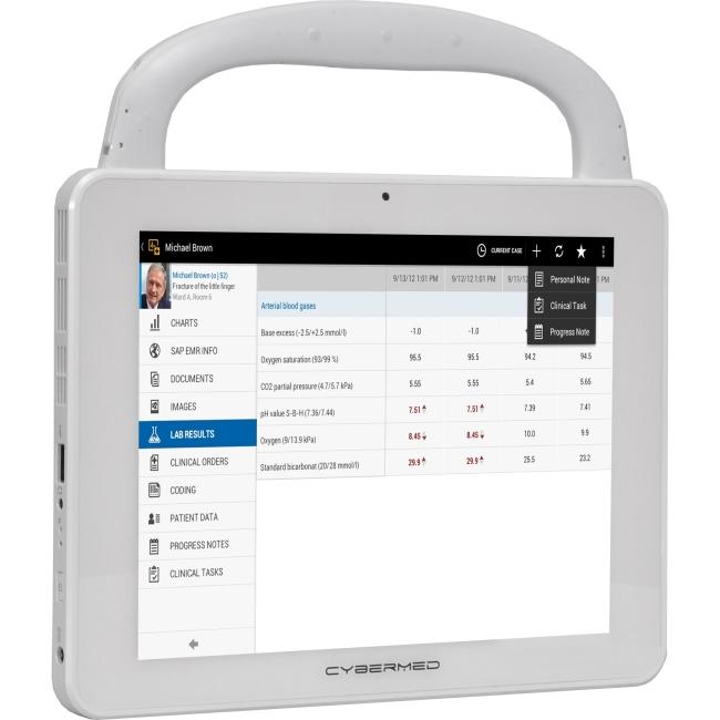 Cybernet CyberMed Medical Grade Windows Tablet CYBERMED-T10C T10C