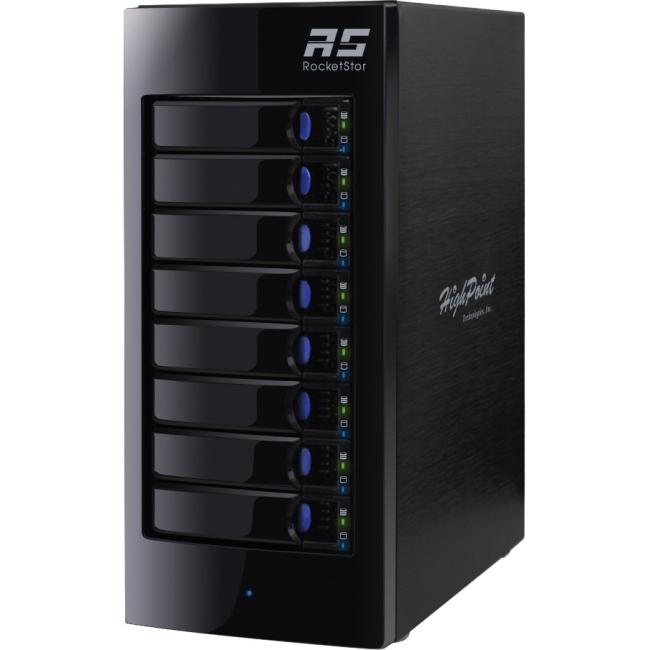 HighPoint RocketStor Turbo RAID Class RS6418TS 6418TS