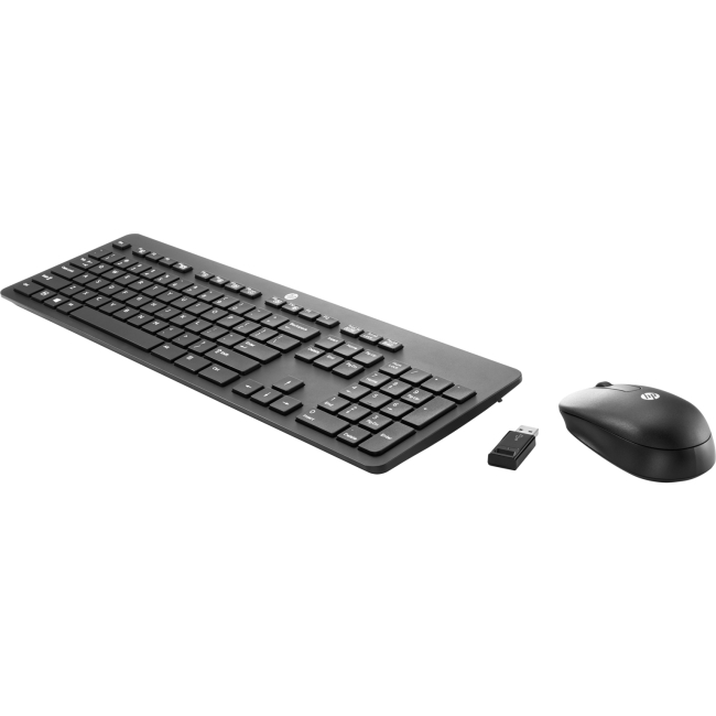HP (Bulk) Wireless Business Slim Keyboard and Mouse N3R88A6#ABA
