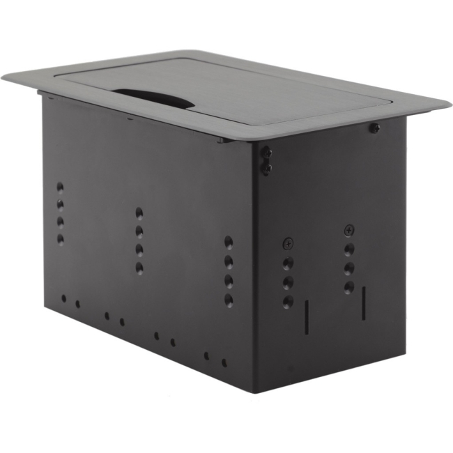 Kramer Table Mount Modular Multi-Connection Solution - Tilt-Up Lid TBUS-4XL