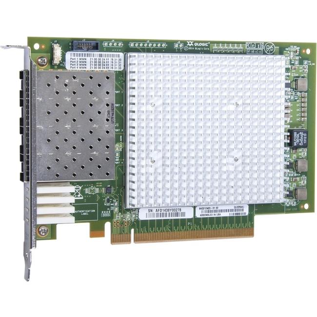 QLogic Fibre Channel Host Bus Adapter QLE2694U-SR-CK QLE2694U