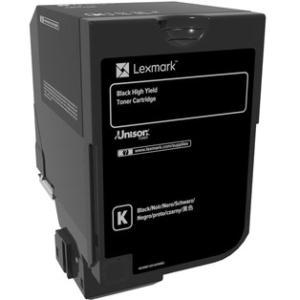 Lexmark 20K Black Toner Cartridge (CS720, CS725) 74C0H10
