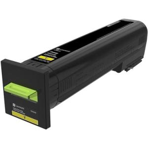 Lexmark 22K Yellow Toner Cartridge (CS820) 72K0X40