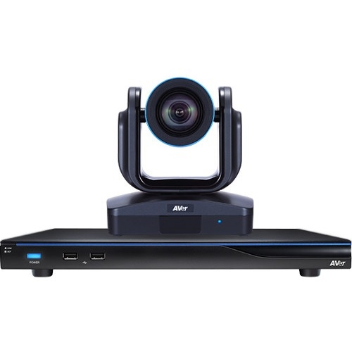 AVer Embedded 10-site HD MCU with built-in 18x PTZ Video Conferencing Endpoint COMESE910 EVC910
