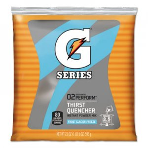 Gatorade Powdered Drink Mix, Glacier Freeze, 21oz Packet, 32/Carton GTD33677 33677