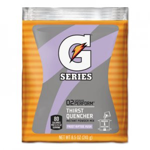 Gatorade Original Powdered Drink Mix, Riptide Rush, 8.5oz Packets, 40/Carton GTD33665 33665