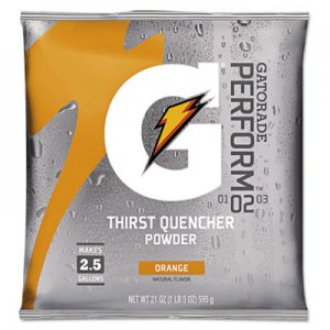 Gatorade Original Powdered Drink Mix, Orange, 21oz Packet, 32/Carton GTD03970 03970