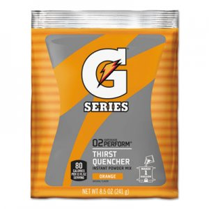 Gatorade Original Powdered Drink Mix, Orange, 8.5oz Packets, 40/Carton GTD03957 03957
