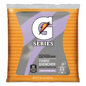 Gatorade Original Powdered Drink Mix, Riptide Rush, 21oz Packets, 32/Carton GTD33673 33673
