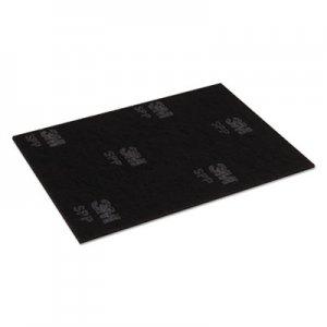 "Scotch-Brite Surface Preparation Pad Sheets, 14"" x 20"", Maroon, 10/Carton MMM02590 SPP14X20"