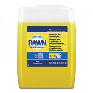 Dawn Professional Manual Pot/Pan Dish Detergent, Lemon Scent, Liquid, 5 gal Pail PGC70682 70682